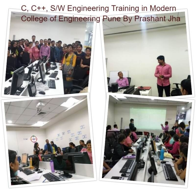 Training in Modern College of Engineering Pune