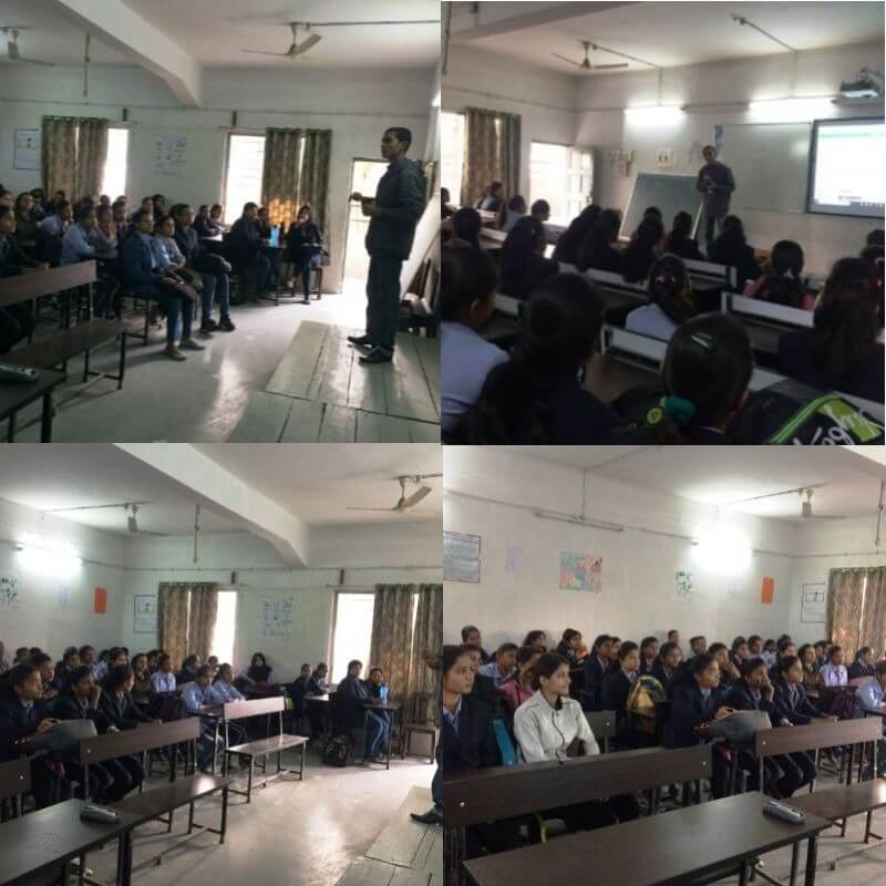 Android Training in LAD College Nagpur for BCCA Students